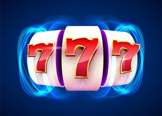 Монеты игрового автомата выигрывают джекпот. 777 big win казино