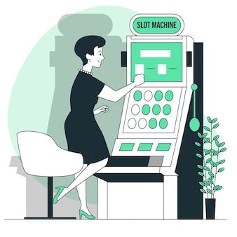 Иллюстрация концепции игрового автомата