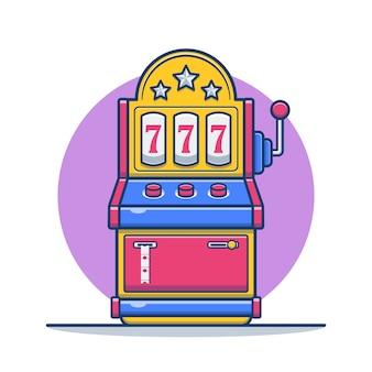 カーニバル漫画のための遊園地付きスロットマシン