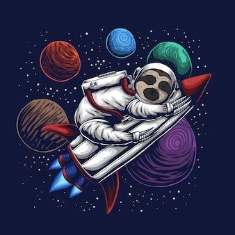 Ленивый космонавт