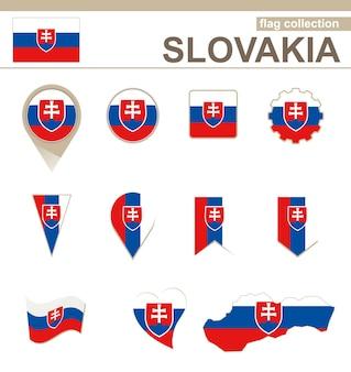 슬로바키아 국기 컬렉션, 12개 버전