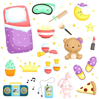 Slumber party items
