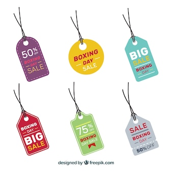 Small boxing day sale badge