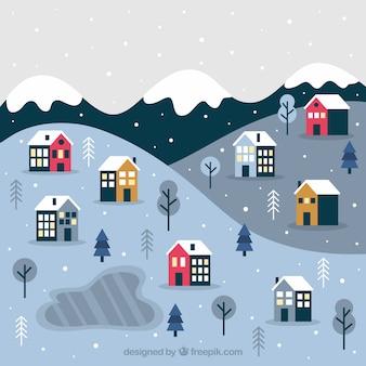 작은 크리스마스 마을