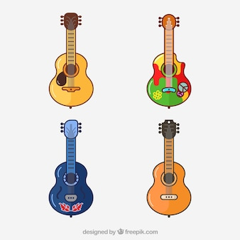 Small guitar collection