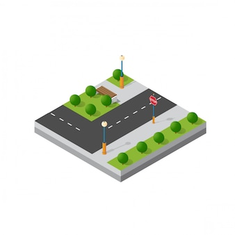 Small isometric module