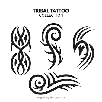 Small tribal tattoo collection