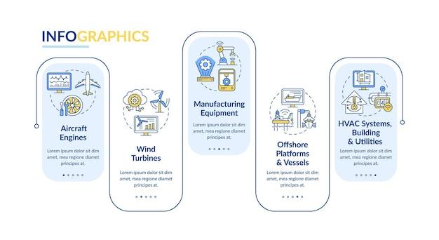 Инфографический шаблон приложения smart ai