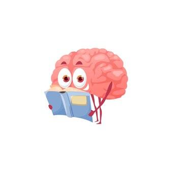 Умный мультфильм мозг чтения книги, психическое здоровье