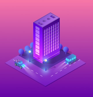 Smart city of ultraviolet