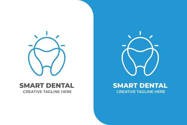 Smart dental dentist clinic logo