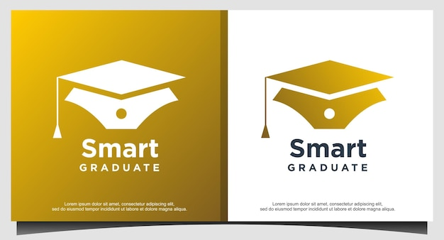 Smart graduate for education logo