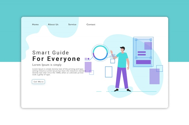 Smart guide landing page
