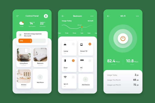 Smart home app collection