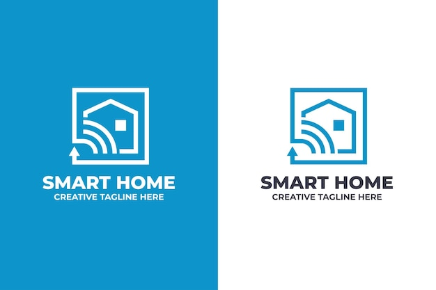 Smart home appliances business logo
