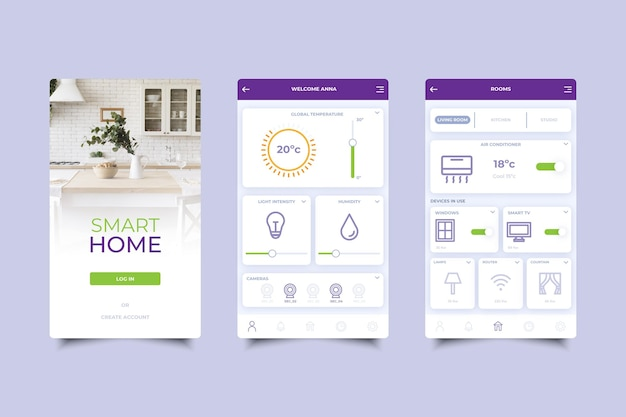 Smart home application