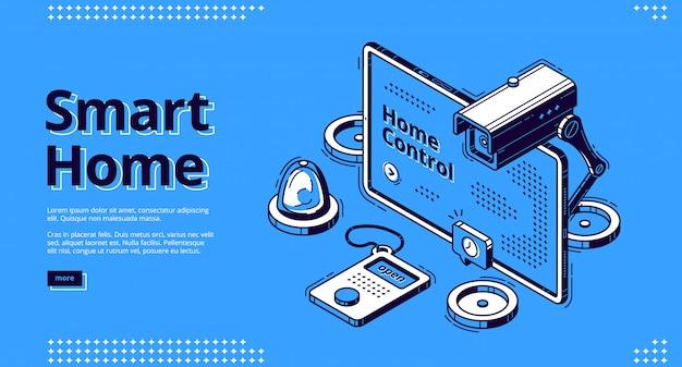 Tecnologia per la casa intelligente e l'intelligenza artificiale