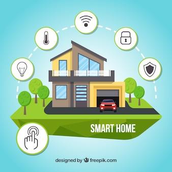 Smart home concept