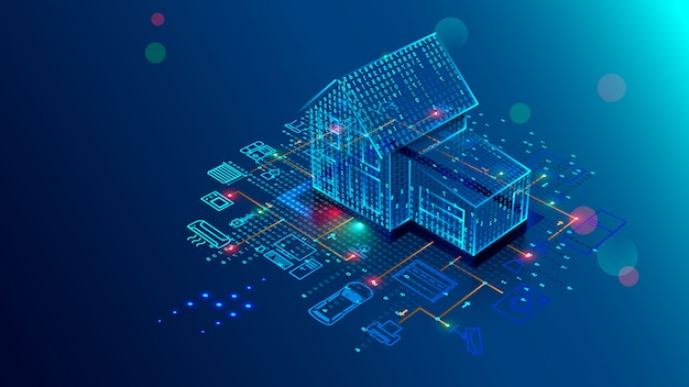 Smart home technology of interface, control safety and automation of smart house