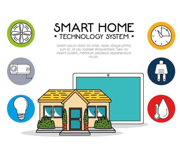 스마트 홈 기술 시스템