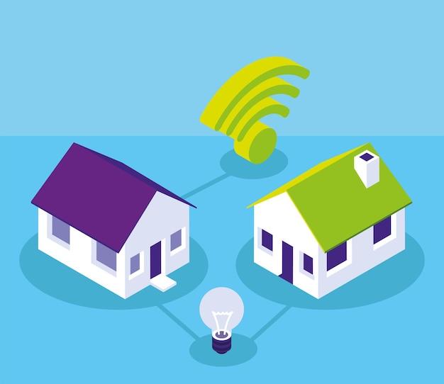 Smart home wireless