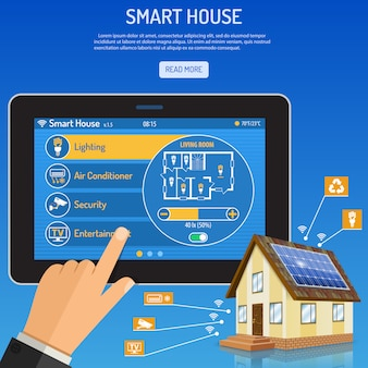 Smart house and internet things