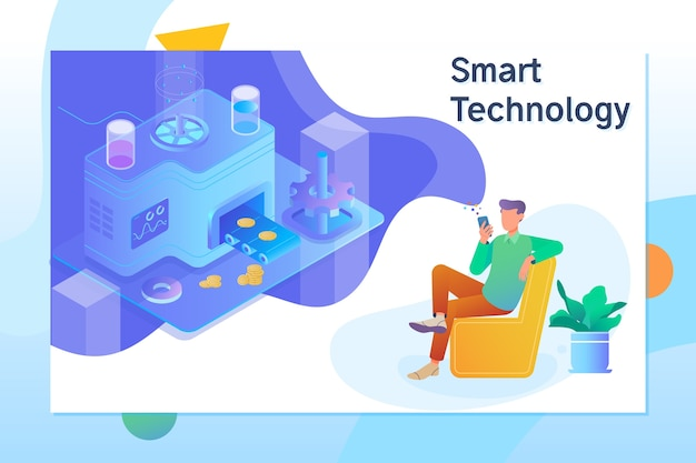 Smart object and smart technology design.