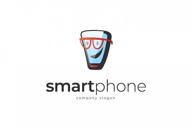 Шаблон логотипа смартфона