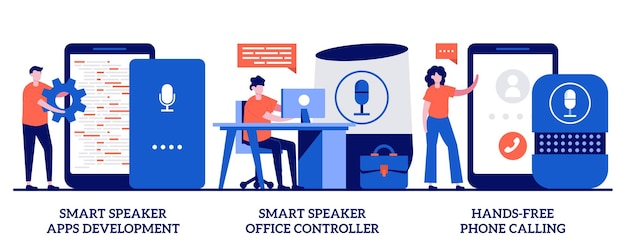 Smart speaker apps development, office controller