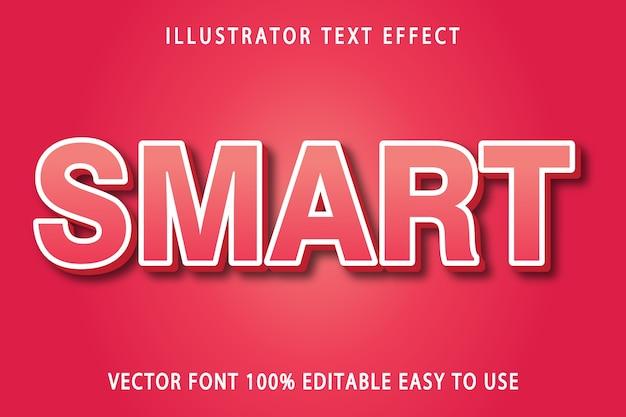 Smart text effect