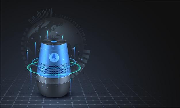 Smart voice recognition gadget.