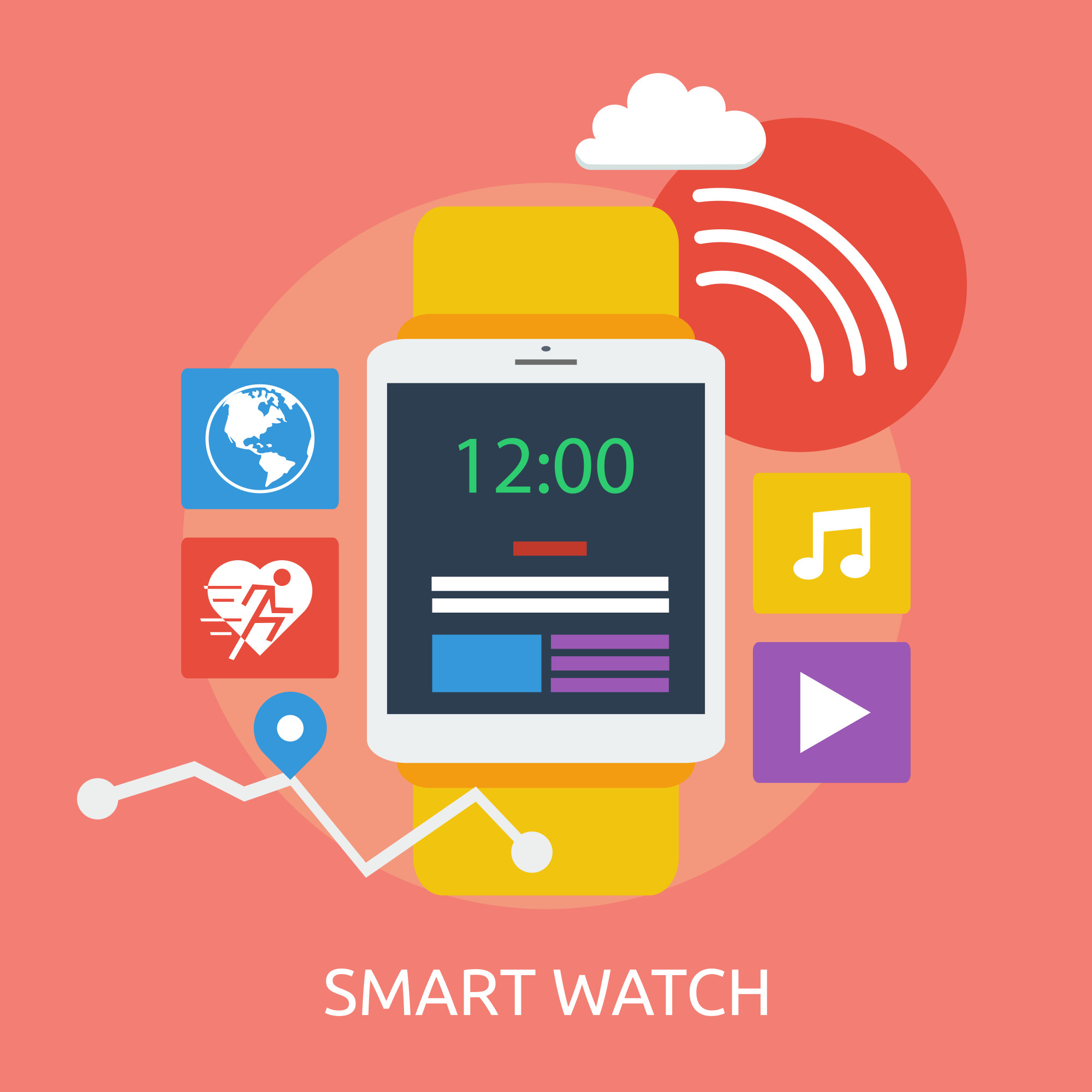 Smart Watch Conceptual