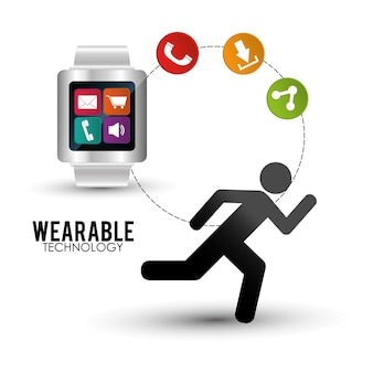 Smart watch wearable technology portable accessory
