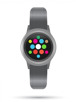 Smart watches icon. smart gadget.