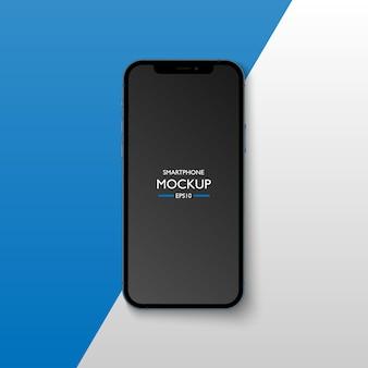 Шаблон экрана приложения для смартфона.