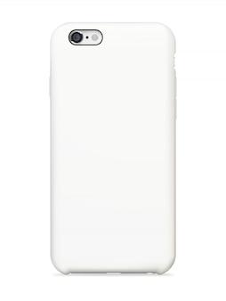 スマートフォンの背面カバーのモックアップ
