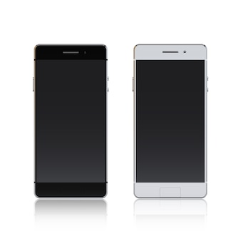 Smartphone black and white