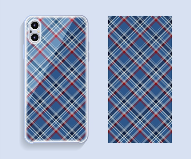 Smartphone case cover with geometric pattern