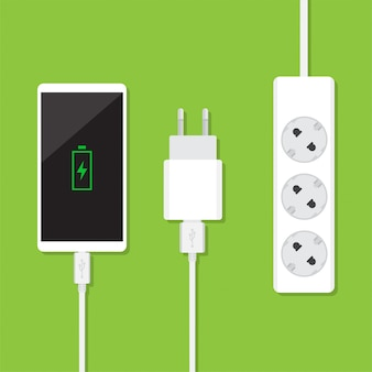 Smartphone charging equipment