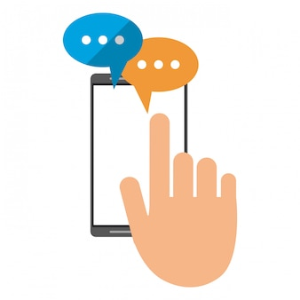 Smartphone chat technology