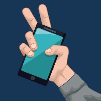Smartphone design.