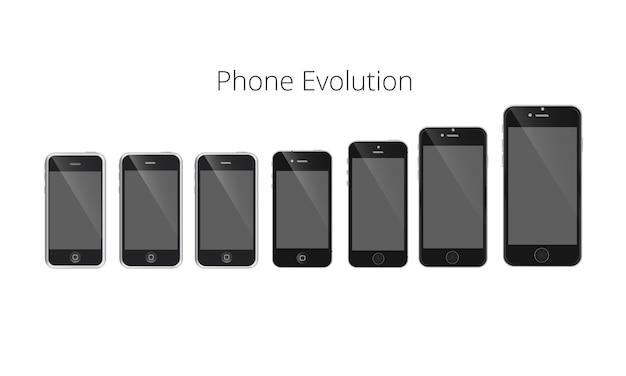 スマートフォン進化ベクトル