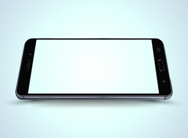 Smartphone mockup.