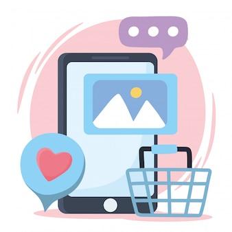 トークチャットソーシャルネットワークコミュニケーションとテクノロジーのようなスマートフォンフォトショップ