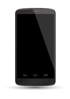 Smartphone realistic vector mockup. can use for pr