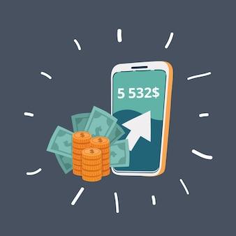 お金を稼ぐためのスマートフォン