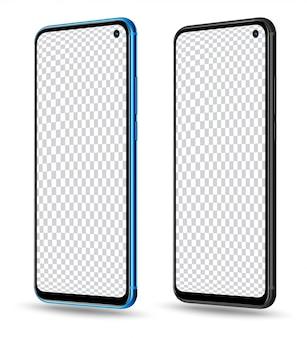Smartphone transparent screen