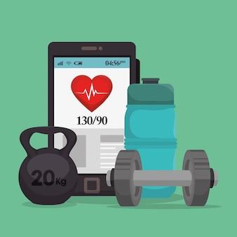 Смартфон со здоровым оборудованием