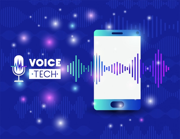 Smartphone with voice recognition tech