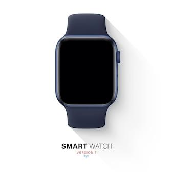 실리콘 밴드가있는 알루미늄 케이스의 smartwatch